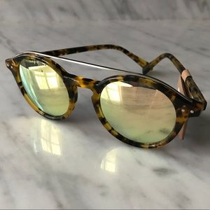 Madewell Bar Top Sunglasses with Reflective Lenses